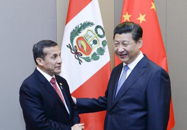 中国巴西秘鲁将共建连接大西洋与太平洋铁路